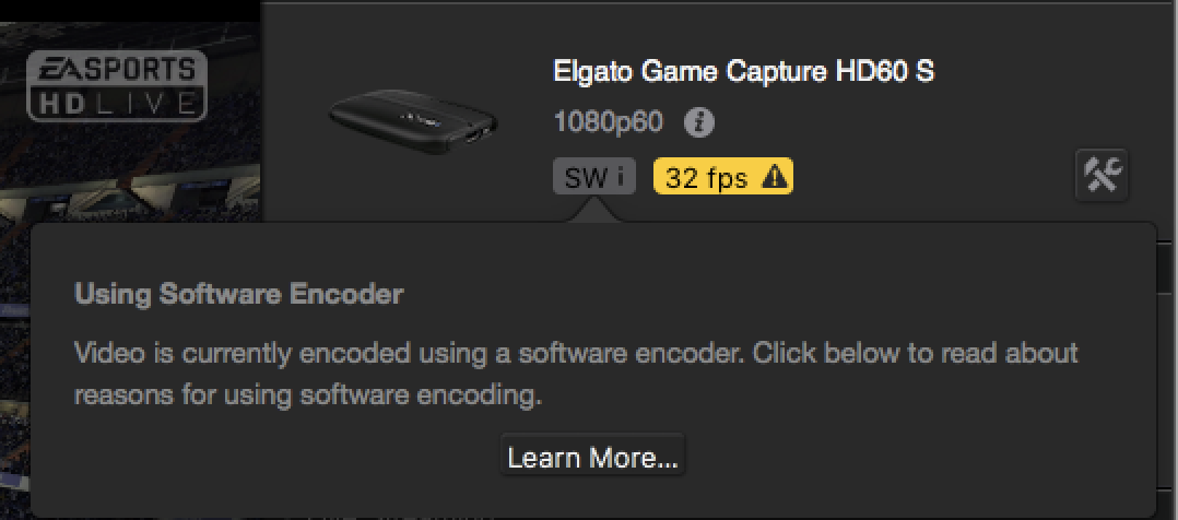 Elgato Game Capture HD60 S and Resolving Performance Issues