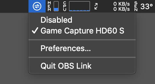 OBS Link – Setup – Elgato Gaming