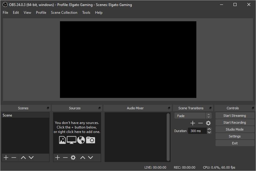 Elgato Game Capture HD60 S – OBS Studio Setup – Elgato Gaming